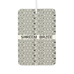 White Chant Shreem Brzee money mantra Air Freshener