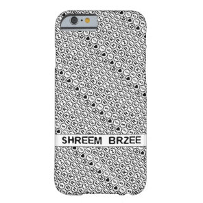 White Chant Shreem Brzee money mantra Barely There iPhone 6 Case