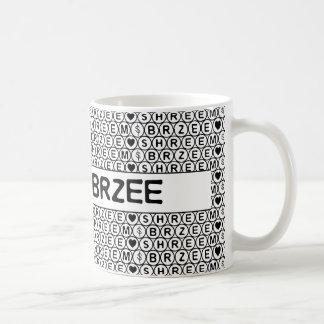 White Chant Shreem Brzee money mantra Coffee Mug