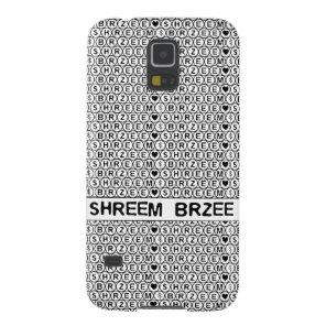 White Chant Shreem Brzee money mantra Galaxy S5 Cover