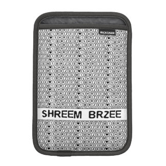 White Chant Shreem Brzee money mantra iPad Mini Sleeve