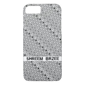 White Chant Shreem Brzee money mantra iPhone 8/7 Case