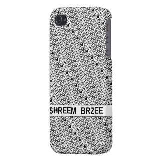White Chant Shreem Brzee money mantra iPhone 4/4S Cover