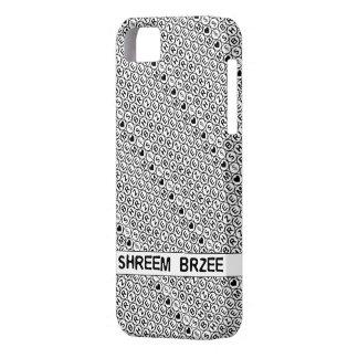White Chant Shreem Brzee money mantra iPhone SE/5/5s Case
