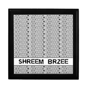 White Chant Shreem Brzee money mantra Jewelry Box