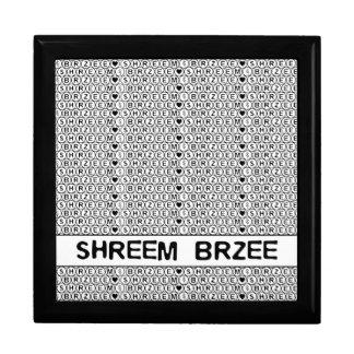 White Chant Shreem Brzee money mantra Jewelry Box