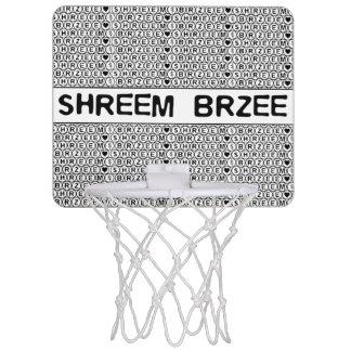 White Chant Shreem Brzee money mantra Mini Basketball Backboard