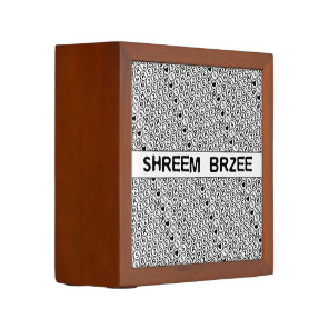 White Chant Shreem Brzee money mantra Pencil Holder