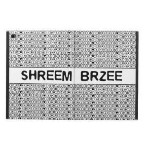 White Chant Shreem Brzee money mantra Powis iPad Air 2 Case