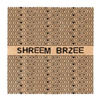 White Chant Shreem Brzee money mantra Drink Coasters