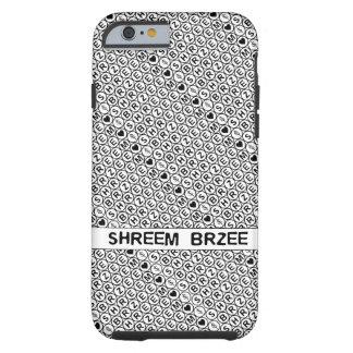 White Chant Shreem Brzee money mantra Tough iPhone 6 Case