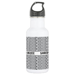 White Chant Shreem Brzee money mantra Water Bottle