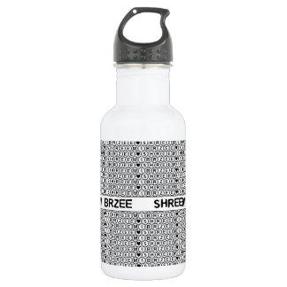 White Chant Shreem Brzee money mantra Water Bottle