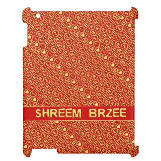 White Chant Shreem BrzRed Gold Chant Shreem Brzee Cover For The iPad