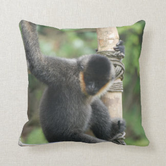 White Cheeked Capuchin Pillow