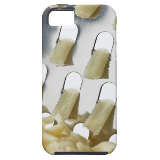 white cheese, cheddar, stainless cheese grater iPhone SE/5/5s case