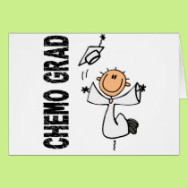 White CHEMO GRAD 1 (Bone Cancer) Card
