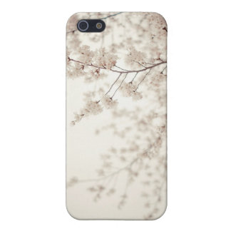 White Cherry Blossoms - Central Park Spring Cover For iPhone 5