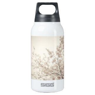 White Cherry Blossoms - Central Park Spring SIGG Thermo 0.3L Insulated Bottle