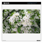 """White Cherry Blossoms Decal For 11"""" MacBook Air"""