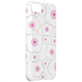 WHITE CHERRY BLOSSOMS iPhone 5 Case