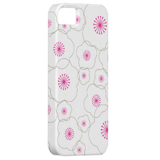WHITE CHERRY BLOSSOMS iPhone Case