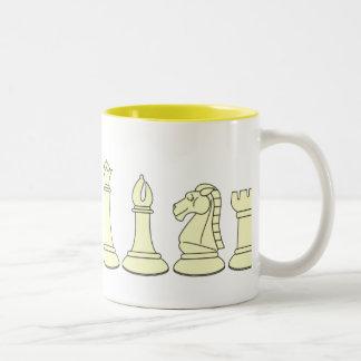 White Chessmen Mug