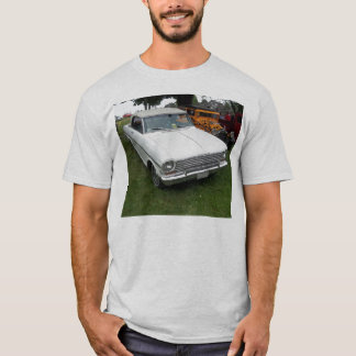 white chevy 1963 nova with chrome front view T-Shirt