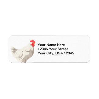 White Chicken Label