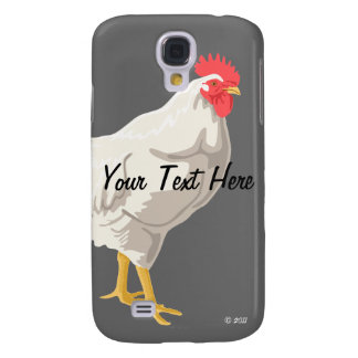 White Chicken Samsung S4 Case