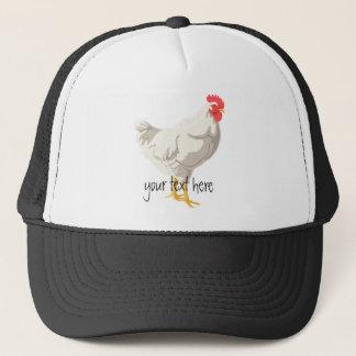White Chicken Trucker Hat