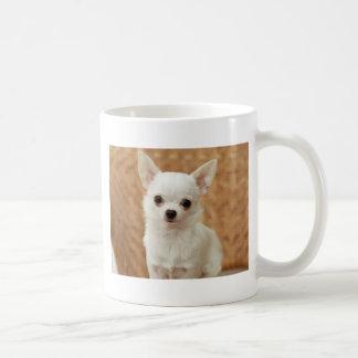 White Chihuahua Coffee Mug