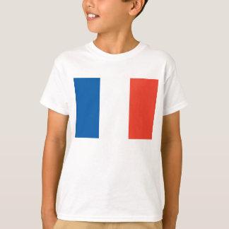white child shirt with France flag