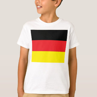 white child shirt with Germany flag