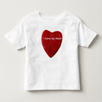 white child shirt with red slate heart
