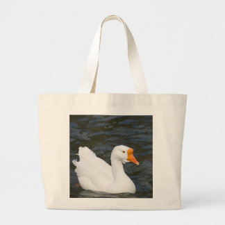 White Chinese Goose Jumbo Tote Bag