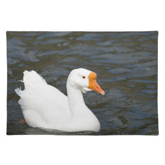 White Chinese Goose Placemat