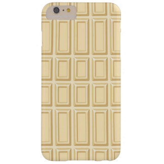 White Chocolate Bar Texture Barely There iPhone 6 Plus Case