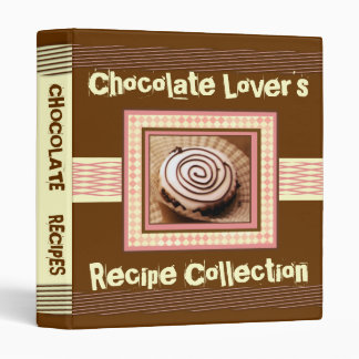 White Chocolate Lover s Recipe Binder