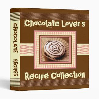 White Chocolate Lover's Recipe Binder