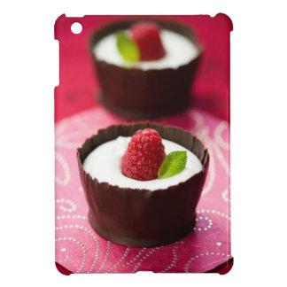 White chocolate mousse dessert iPad mini case