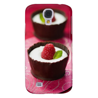 White chocolate mousse dessert samsung galaxy s4 cover