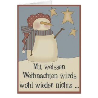 White Christmas Cards