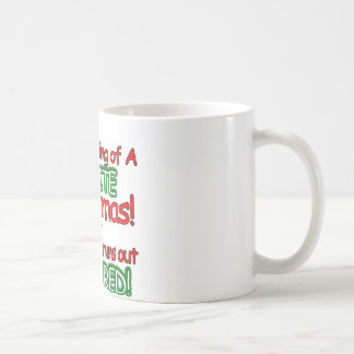 White Christmas Classic White Coffee Mug