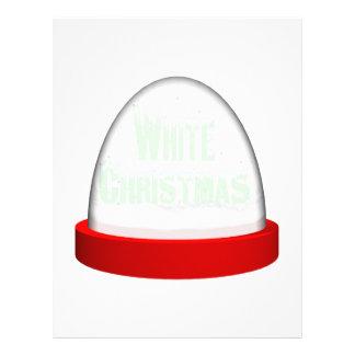 White Christmas Full Color Flyer