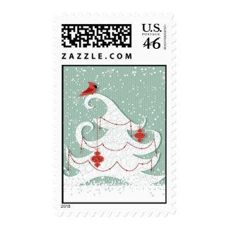White Christmas Postage