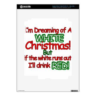 White Christmas iPad 3 Skin