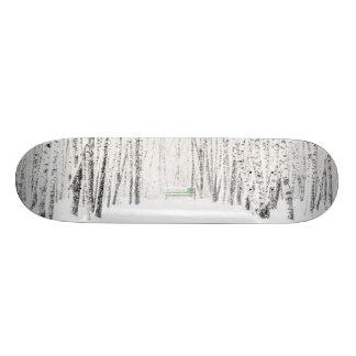 White Christmas Tale Skateboard Deck