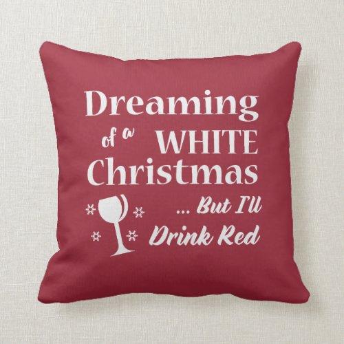 White Christmas Wine Lover