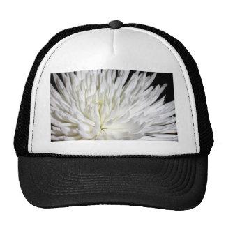 White Chrysanthemum Flower Mums Flowers Photo Trucker Hat